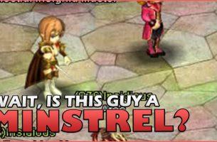Crystal Saga – Wait, IS THIS GUY A MINSTREL?!
