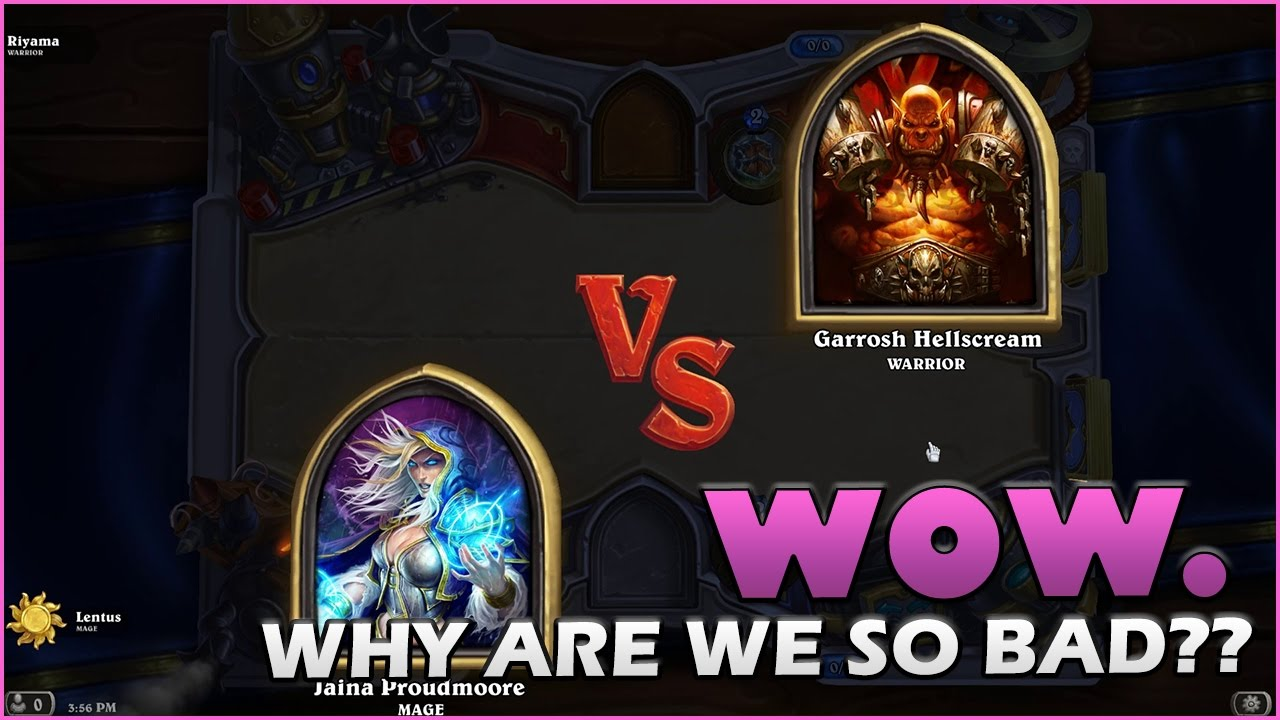 why is hearthstone matchmaking so bad For hearthstone: heroes of warcraft on the pc, a gamefaqs message board topic titled why is this druid deck so damn bad.