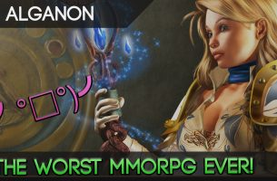 Alganon – Literally The Worst, Most Boring MMORPG Ever Created.