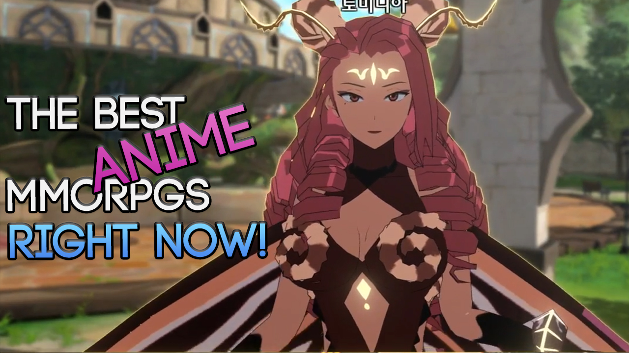 The Best Free To Play Anime MMORPGs To Play RIGHT NOW In 2017!