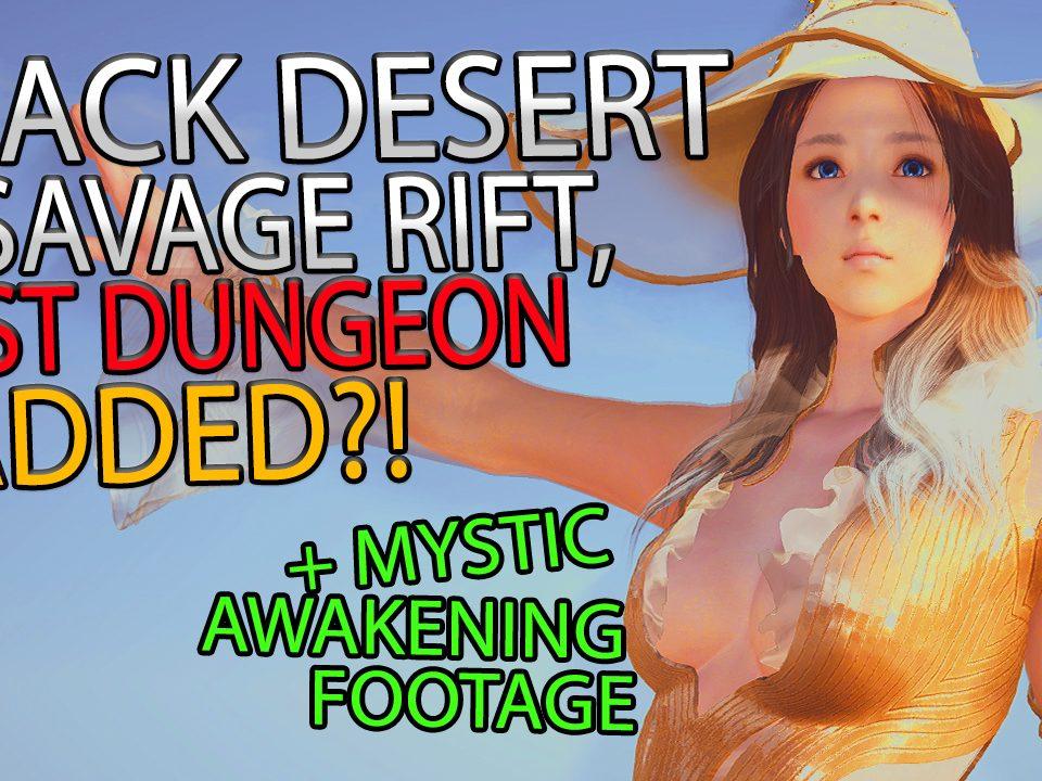 Black Desert Online Dungeon
