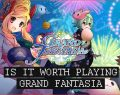 Is It Worth Playing? Grand Fantasia [Part 1] An Anime MMORPG In-Progress Review