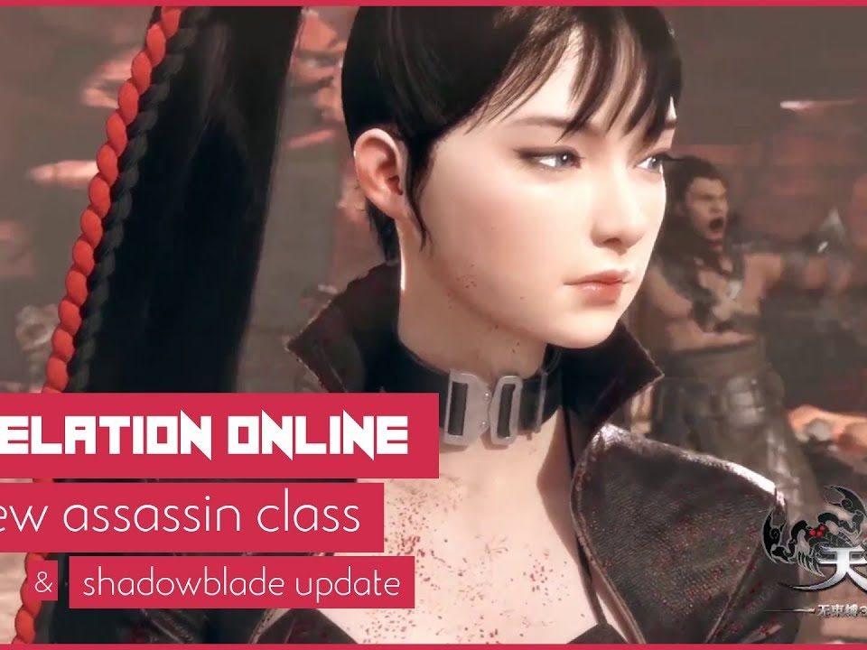 Revelation Online Shadowblade MMORPG Launch + Assassin Class Info! (BQ)