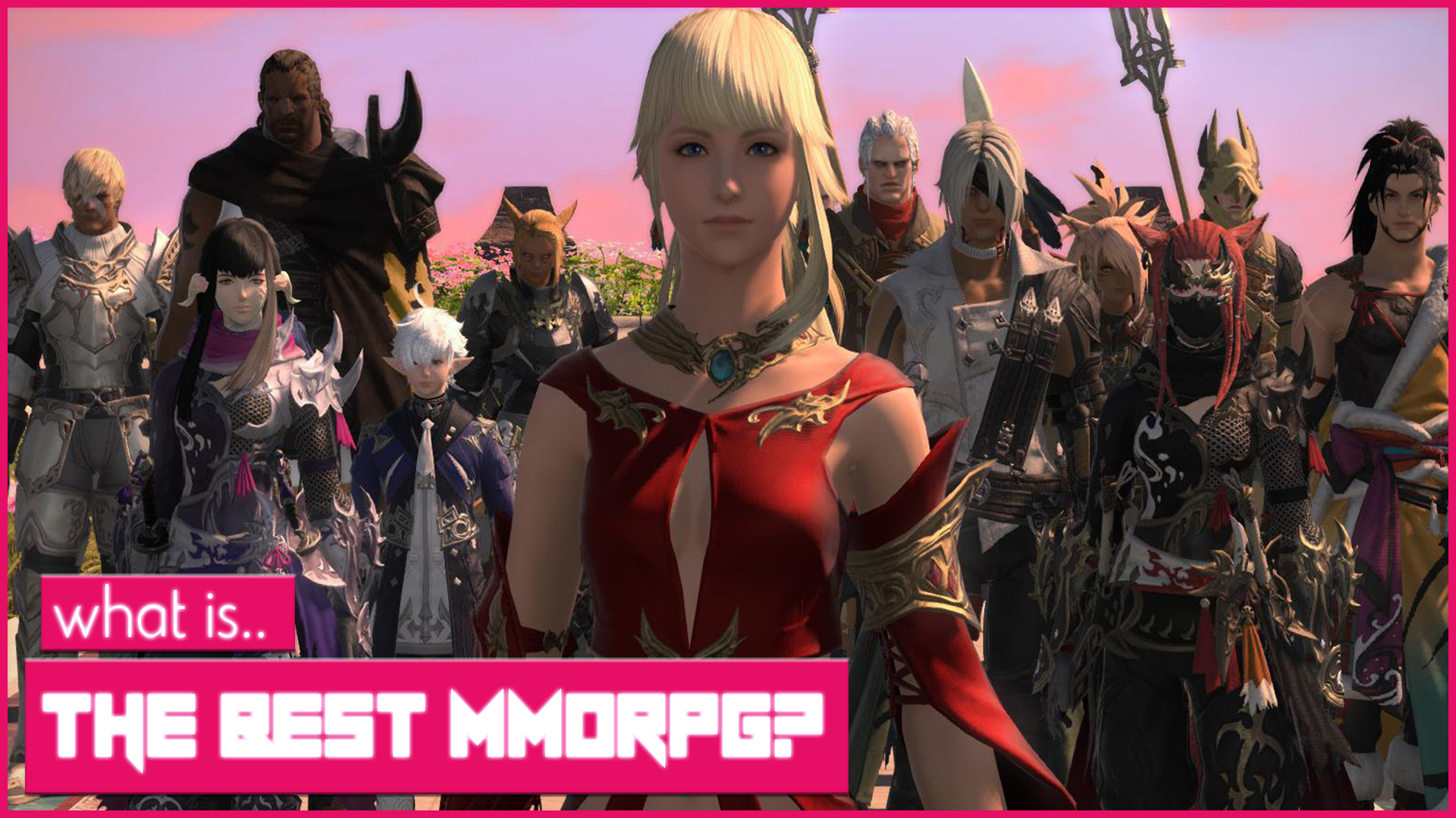 What Is The Best MMORPG In 2018? FFXIV, GW2, BDO, ESO, WOW