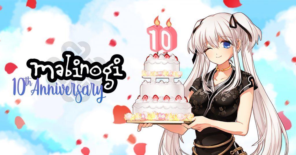 Mabinogi 10 Year Anniversary