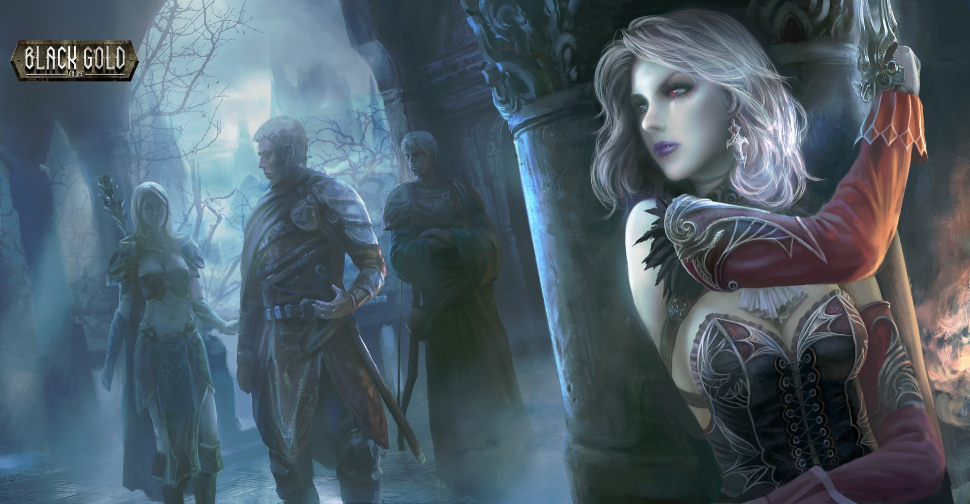 Fantasy Art Steampunk Assassin