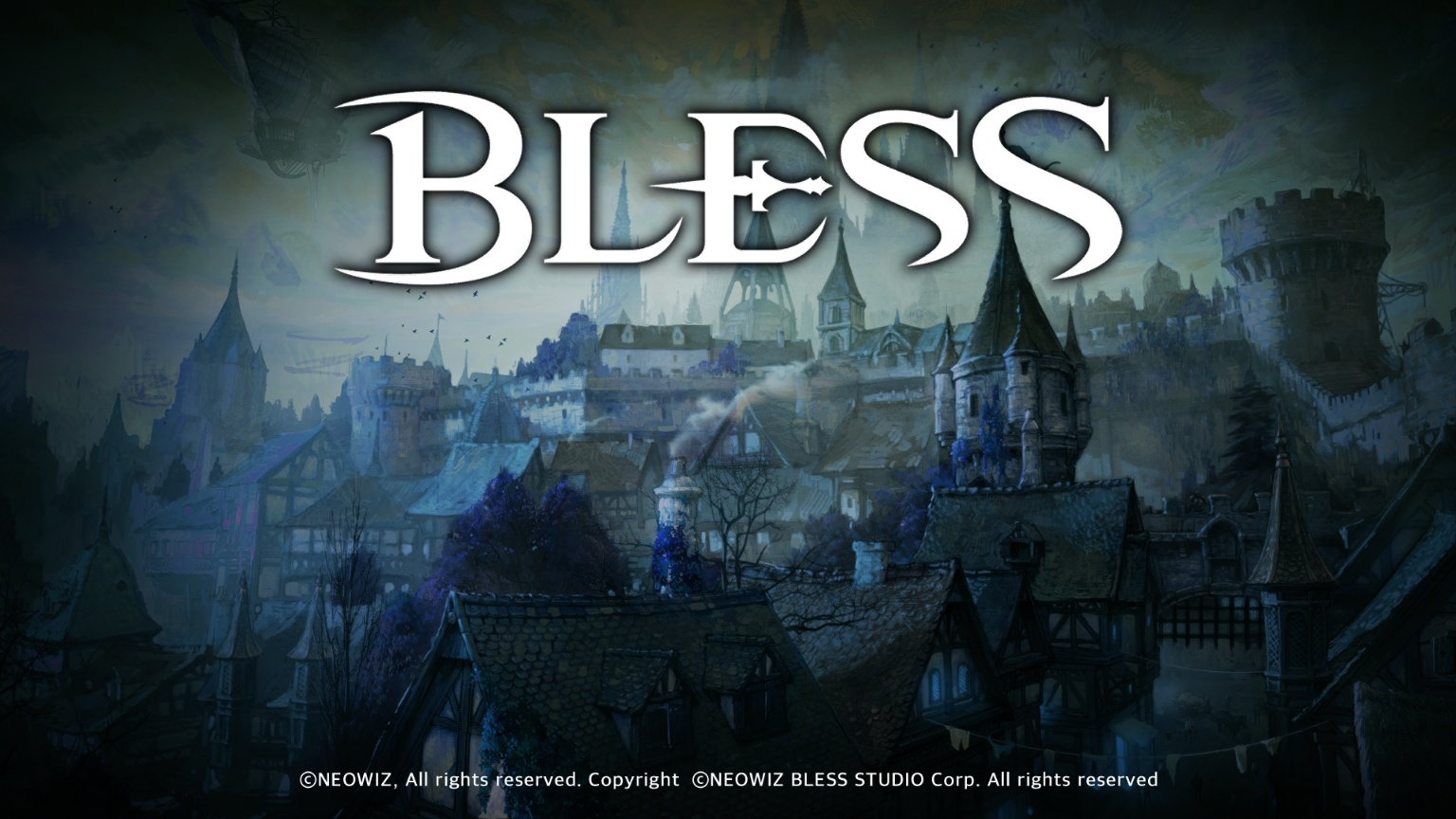 Bless Online Early Access Title Splash