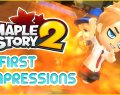 MapleStory 2 Game Review